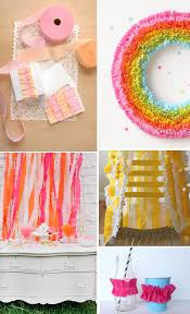 streamers paper diy tutorial how to make ruffled crepe paper streamers pizzazzerie