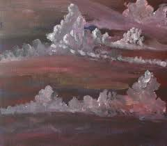 gloomy sky skies painting acrylic on canvas sheet by sameeymus