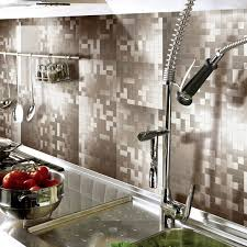 kitchen peel and stick backsplash aspect 6 x 24inch iron slate
