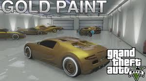 gta 5 online how to paint gold color secret trick to gold paint