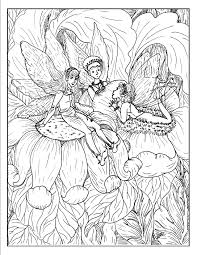 fantasy coloring page free download