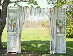wedding backdrop doors wedding curtains backdrop lace wedding garland burlap garland