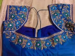 work blouses for pattu sarees