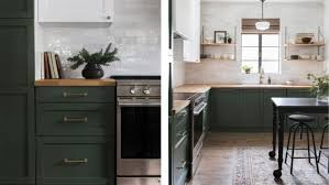 green lower white kitchen cabinets kitchen trends to follow now