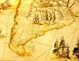 Patagonia Map Patagons A Map From 1669 Patagonian Monsters