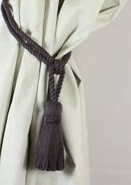 Rope Tiebacks For Curtains How To Make Curtain Ties With Rope Www Elderbranch