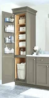 Bathroom Towel Storage Cabinets White Linen Storage Cabinet Probeta Info