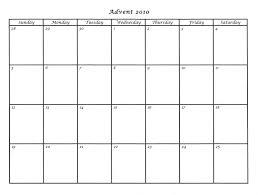 blank calendar template ks1 advent calendar printable 2016 ora exacta co