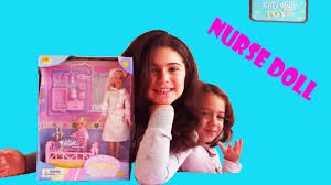 Doctor And Nurse Barbie New Baby Alive Doctor Barbie Doctor And Nurse Youtube