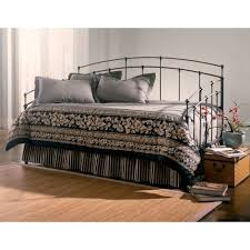 fenton iron daybed in black walnut humble abode