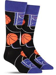 basketball awesome novelty socks for