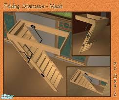 spaik u0027s folding staircase mesh