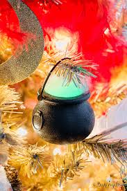 glowing cauldron ornaments by bakingdom harry potter