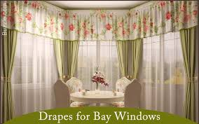 Bay Window Valance Varieties Of Bay Window Curtains That Are Simply Mesmerizing