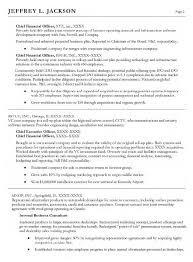 chief financial officer resume sle sales officer lewesmr