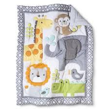 circo snooz u0027n safari 4pc crib bedding set hey target