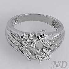 engagement rings flower design flower design swirl cocktail ring