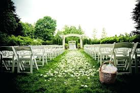 wedding aisle decorations outdoors outdoor wedding ideas for