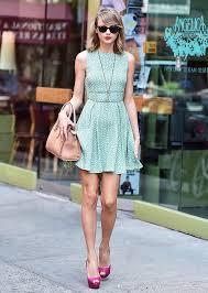 blue polka dot dress fashion dresses