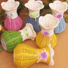 Rattan Vases Online Shop 1pcs Artificial Rattan Vases Flower Fruit Candy