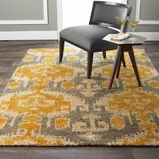 Gray And Yellow Rugs Gray And Gold Ikat Jute Brush Cut Rug Shades Of Light