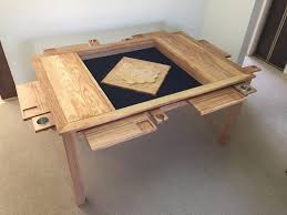 Game Table Plans The Board Game Vault Table Woodworking For Mere Mortals
