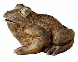 anecdotal aardvark frog statues frog decorations
