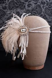 how to make a 1920s hairpiece flapper headband crystal style 102 flapper headband