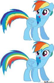 Mlp Rainbow Dash Meme - mlp fim rainbow dash by roxas keyblademaster 39 meme center