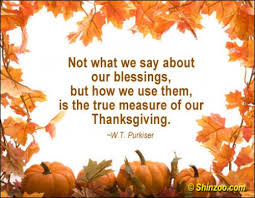 thanksgiving day inspirational quotes happy thanksgiving sayings