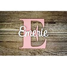 baby plaques personalized alphabeticals wooden letters for nursery wall letters name sign