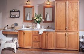 Oak Bathroom Cabinet Modern Oak Bathroom Cabinets On Best References Home Decor At