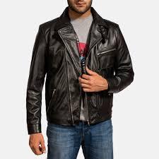 mens black leather motorcycle jacket men u0027s leather jackets buy leather jackets for men