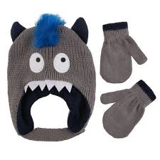 Bed And Bath Bath Accessories Shopko by Snakes U0026 Snails Infant Toddler Boy Monster Hat And Mitten Set Shopko