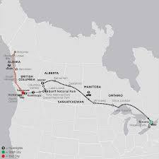 Skagway Alaska Map by Canada Budget Tours Canadian Rockies Tours Canadian Tours