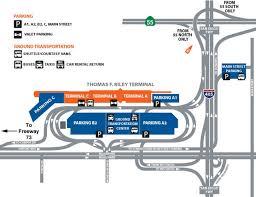 Jfk Terminal 8 Map Airport Parking Maps For Jfk John Wayne Kansas City Knoxville