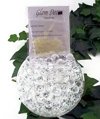 from 2 75 glam decor water gel balls bio soil wedding