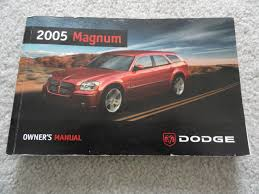 2005 dodge magnum owners manual dodge amazon com books