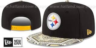 steelers kaleidovize snapback black hat by new era at hatland