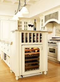kitchen island wine rack savvy kitchen island storage traditional home