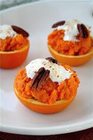 yams recipes thanksgiving sweet potato orange cups the curvy carrot
