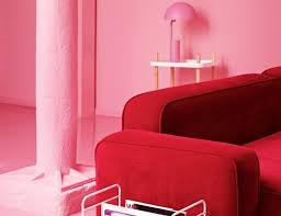bubblegum pink interiors are the latest color bursting onto the scene
