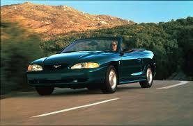 1995 Mustang Black Ford Mustang History 1995 Shnack Com