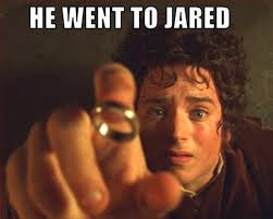 he went to jared image gallery know your meme