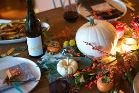 thanksgiving table with metropolitan market all purpose flour child