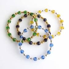 bead bangle bracelet images Free tutorial mother 39 s gift bangle bracelet 2grays jpg