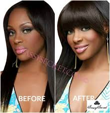 clip in fringe light yaki american clip in bangs fringe for black women
