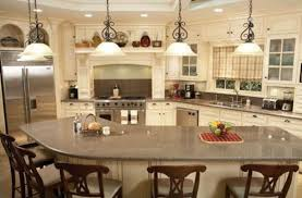 kitchens with islands designs curved l shaped breakfast bar interior design for unique kitchen