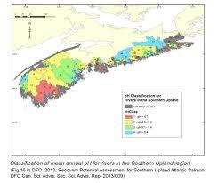 Map Of Nova Scotia What U0027s Good For Salmon Is Good For Trees In Nova Scotia U2026and V