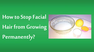 stop womens chin hair growth natural home remedies to get rid of facial hair permanently youtube